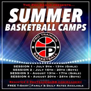 Summer Basketball Camps 2018 Buffalo NY Pro Training Basketball